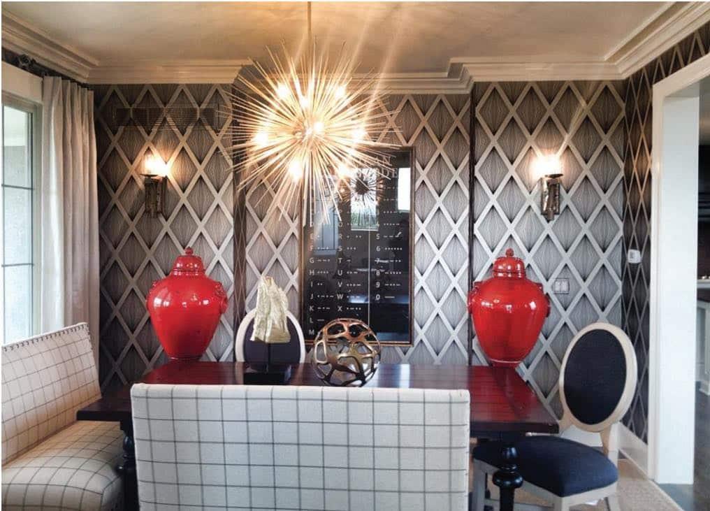 Wallpaper makes a comeback in kansas city interior design